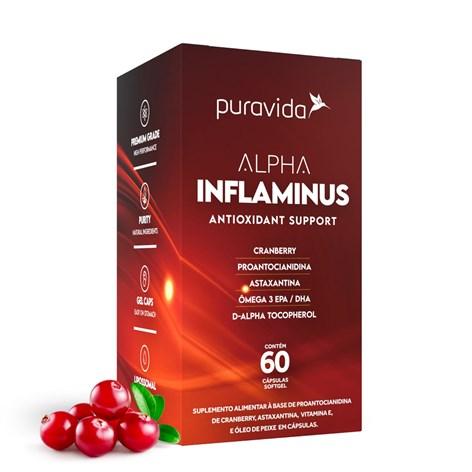Produto Alpha Inflaminus Antioxidante Suplemento