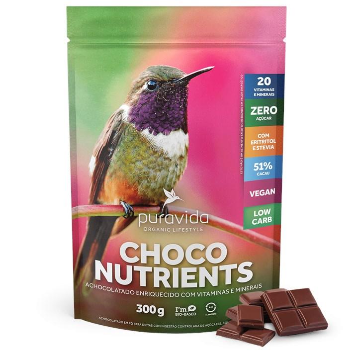 Choco Nutrients Achocolatado sem Açúcar