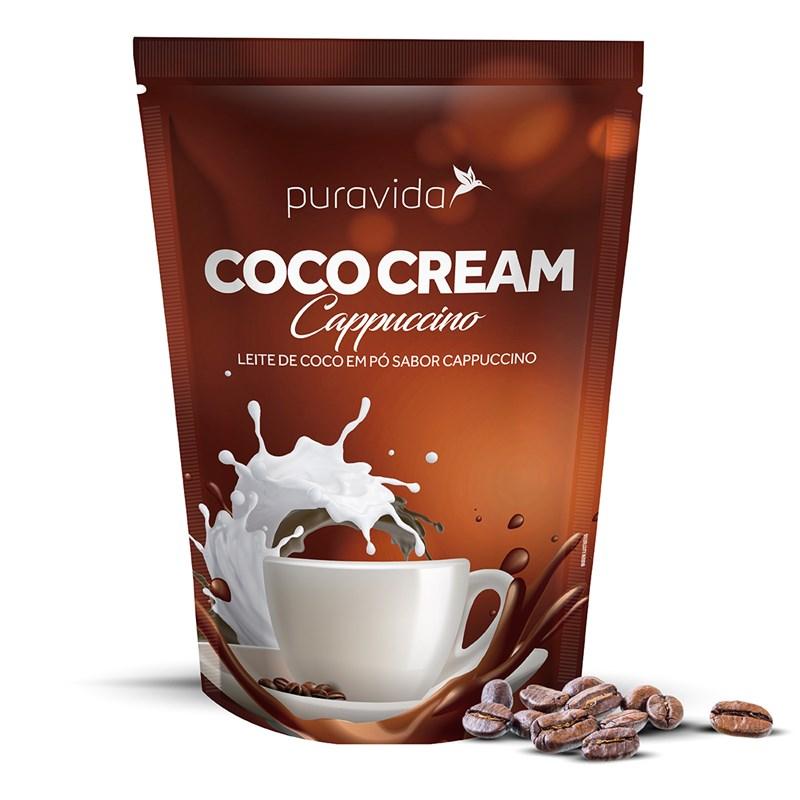 COCO CREAM CAPPUCCINO LEITE DE COCO EM PÓ