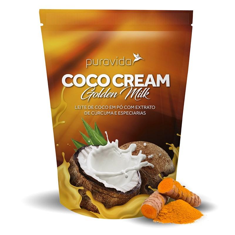 COCO CREAM GOLDEN MILK LEITE DE COCO VEGANO EM PÓ