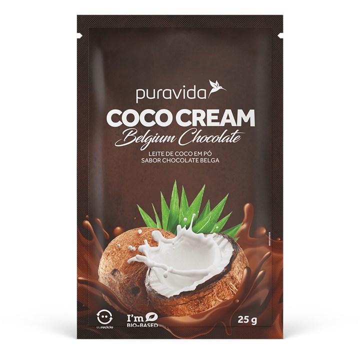 Coco Cream Leite de Coco em Pó Belgium Chocolate