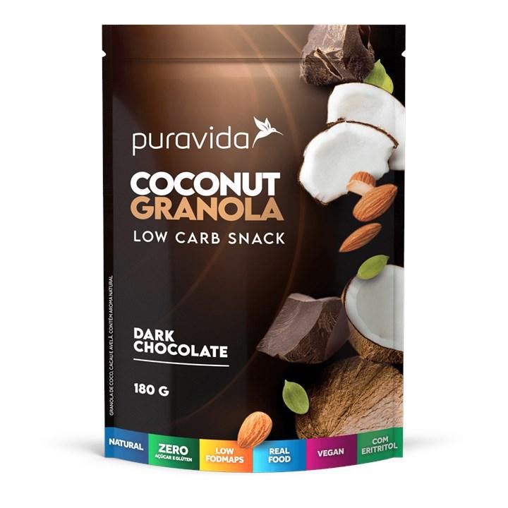 Coconut Granola Chocolate
