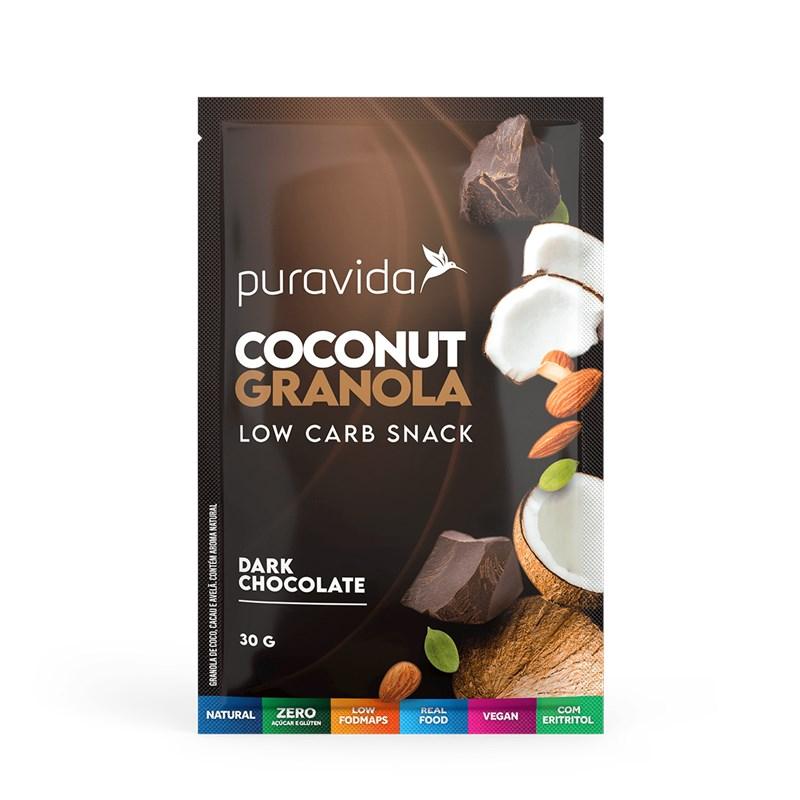 Coconut Granola Chocolate Sachê
