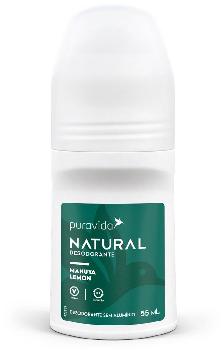 Desodorante Natural Manuya Lemon