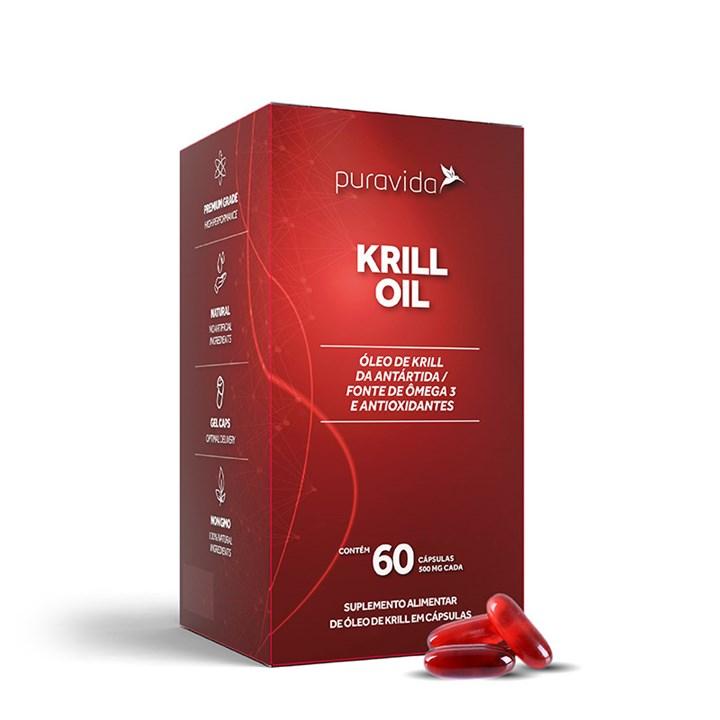 Krill Oil Ômega 3 500 mg