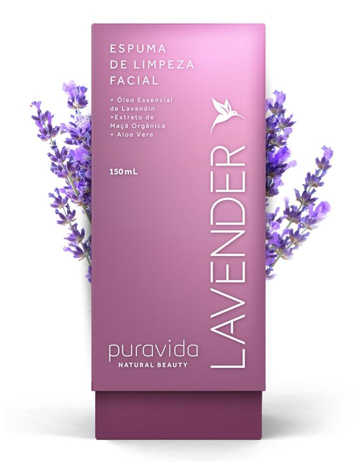 Lavender Espuma de Limpeza Facial