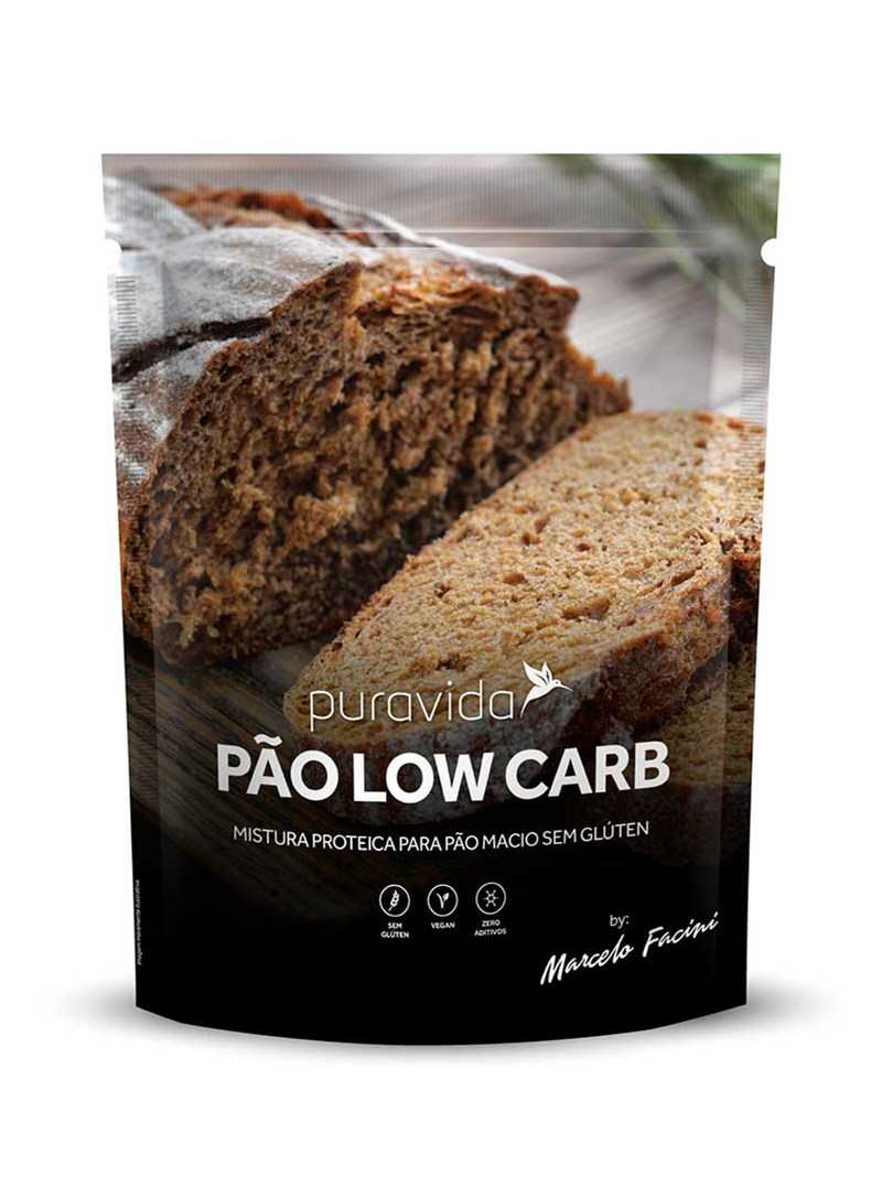 PÃO LOW CARB